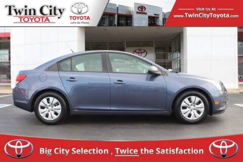2013 Chevrolet Cruze for sale at Twin City Toyota in Herculaneum MO