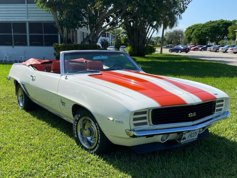 1969 Chevrolet Camaro for sale at Suncoast Sports Cars and Exotics in West Palm Beach FL