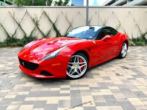 2017 Ferrari California T for sale at ROGERS MOTORCARS in Houston TX