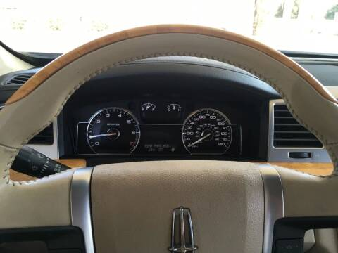 2009 Lincoln MKS for sale at CONTINENTAL AUTO EXCHANGE in Lemoore CA