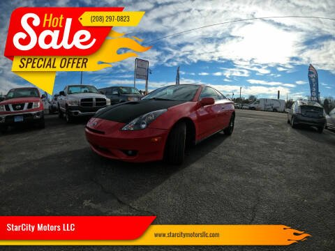 2004 Toyota Celica for sale at StarCity Motors LLC in Garden City ID