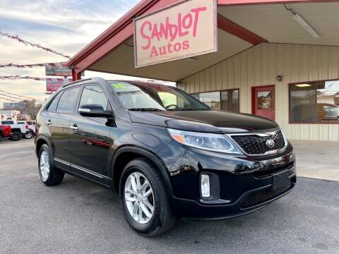 2015 Kia Sorento for sale at Sandlot Autos in Tyler TX