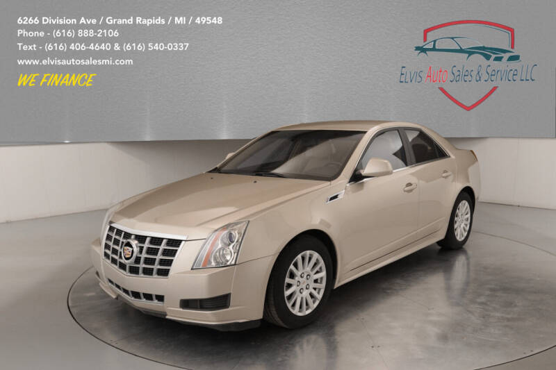 2013 Cadillac CTS for sale at Elvis Auto Sales LLC in Grand Rapids MI