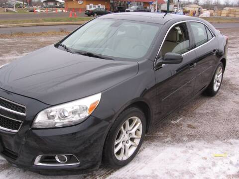 2013 Chevrolet Malibu for sale at SCHUMACHER AUTO SALES & SERVICE in Park Falls WI