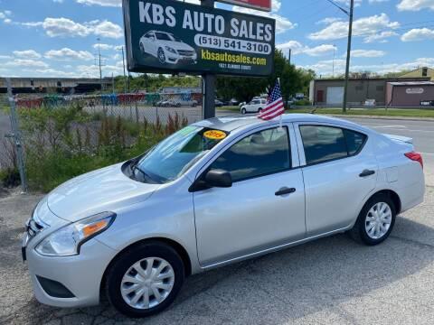 2015 Nissan Versa for sale at KBS Auto Sales in Cincinnati OH