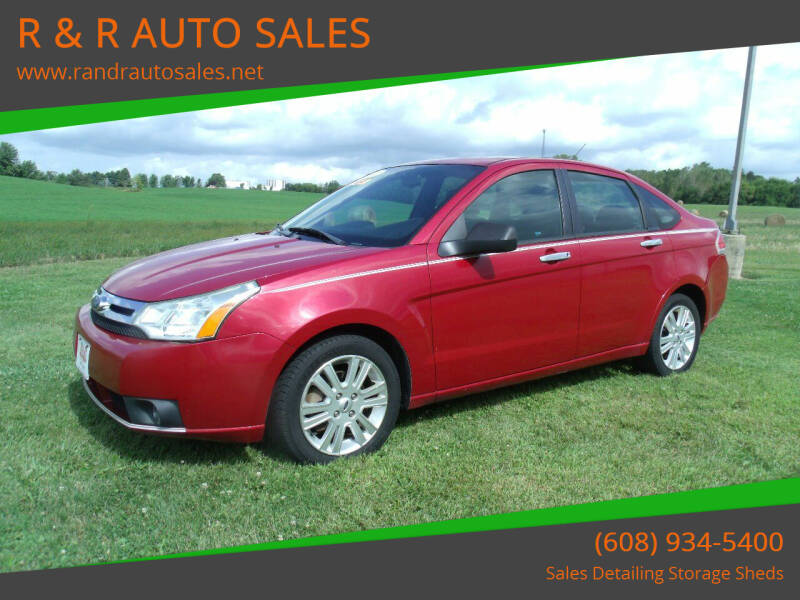 2011 Ford Focus for sale at R & R AUTO SALES in Juda WI
