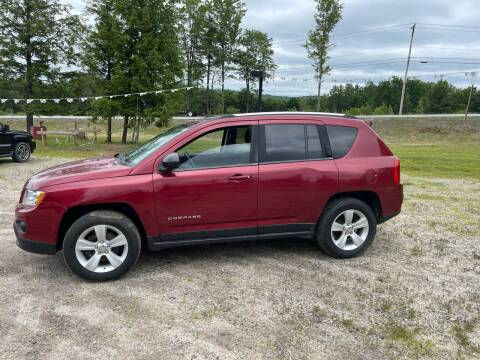 2012 Jeep Compass for sale at Hart's Classics Inc in Oxford ME