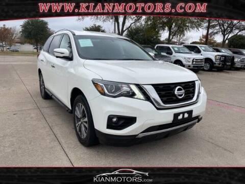 2017 Nissan Pathfinder for sale at KIAN MOTORS INC in Plano TX