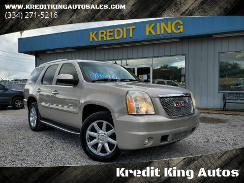 2007 GMC Yukon for sale at Kredit King Autos in Montgomery AL