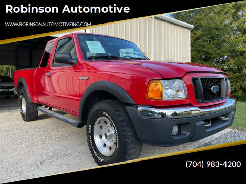 2005 Ford Ranger for sale at Robinson Automotive in Albemarle NC