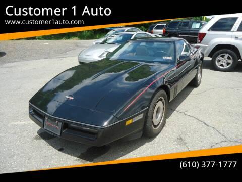 1985 Chevrolet Corvette for sale at Customer 1 Auto in Lehighton PA