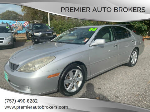 2006 Lexus ES 330 for sale at Premier Auto Brokers in Virginia Beach VA