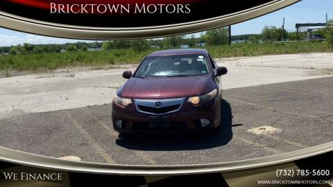 2012 Acura TSX for sale at Bricktown Motors in Brick NJ