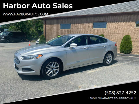 2013 Ford Fusion for sale at Harbor Auto Sales in Hyannis MA