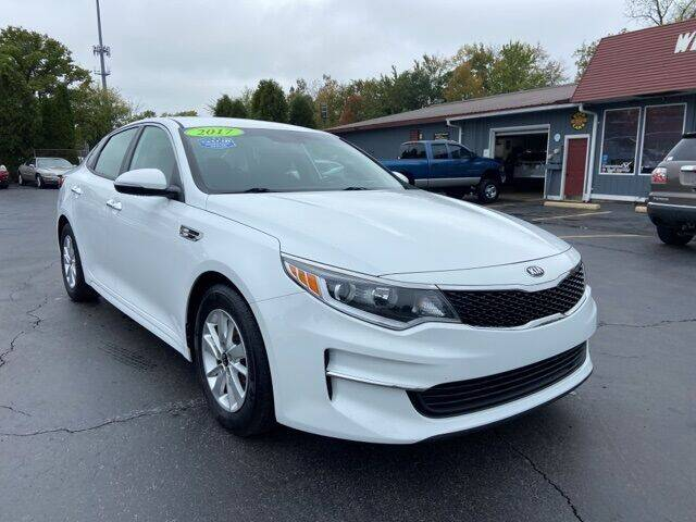 2017 Kia Optima for sale at Newcombs Auto Sales in Auburn Hills MI