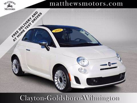 2018 FIAT 500 for sale at Auto Finance of Raleigh in Raleigh NC
