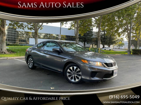 2013 Honda Accord for sale at Sams Auto Sales in North Highlands CA