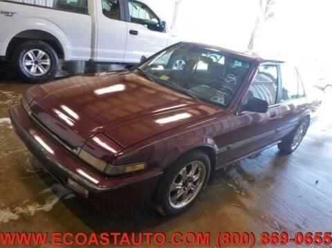 1988 Honda Accord for sale at East Coast Auto Source Inc. in Bedford VA