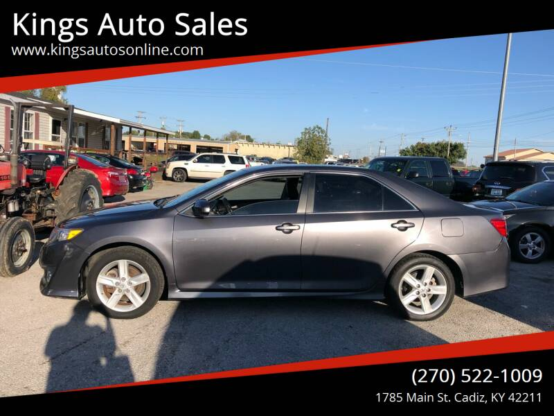 2014 Toyota Camry for sale at Kings Auto Sales in Cadiz KY