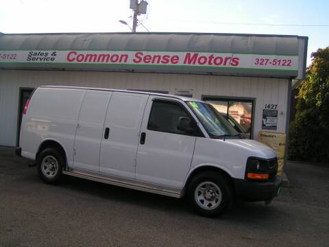 2014 Chevrolet Express Cargo for sale at Common Sense Motors in Spokane WA