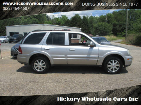 2004 Buick Rainier for sale at Hickory Wholesale Cars Inc in Newton NC