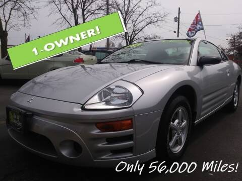 2004 Mitsubishi Eclipse for sale at Oak Hill Auto Sales of Wooster, LLC in Wooster OH