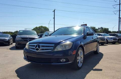 2008 Mercedes-Benz C-Class for sale at International Auto Sales in Garland TX