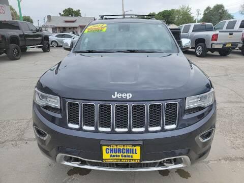 2014 Jeep Grand Cherokee for sale at CHURCHILL AUTO SALES in Fallon NV