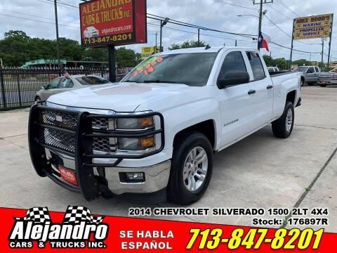 2014 Chevrolet Silverado 1500 for sale at Alejandro Cars & Trucks Inc in Houston TX