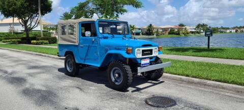 1980 Toyota FJ Cruiser for sale at ADVANCE AUTOMALL in Doral FL