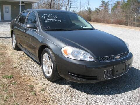 2014 Chevrolet Impala Limited for sale at Judy's Cars in Lenoir NC