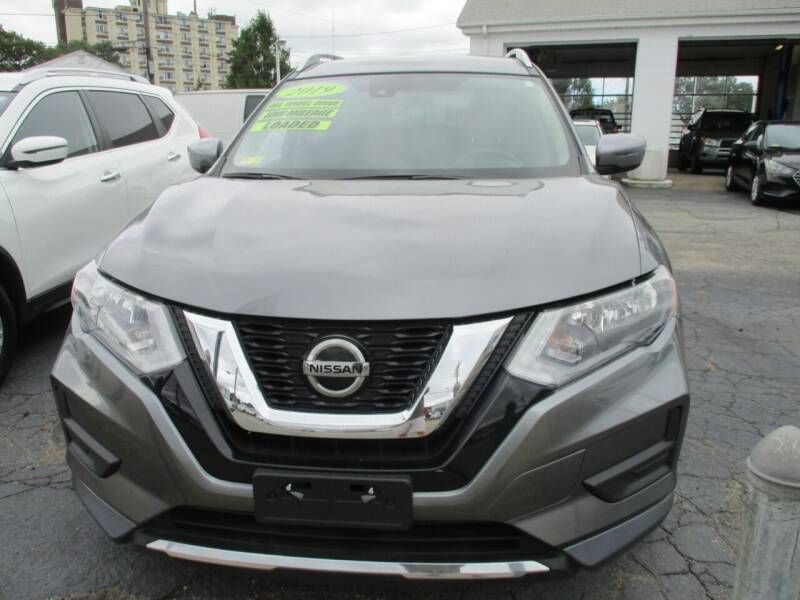 2019 Nissan Rogue for sale at AUTO FACTORY INC in East Providence RI