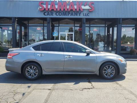 2015 Nissan Altima for sale at Siamak's Car Company llc in Salem OR
