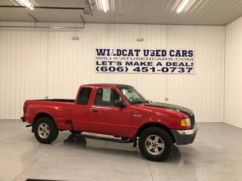 2002 Ford Ranger for sale at Wildcat Used Cars in Somerset KY
