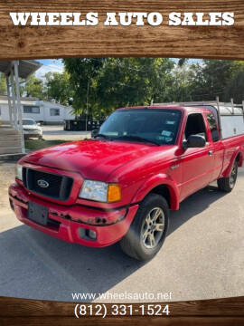 2004 Ford Ranger for sale at Wheels Auto Sales in Bloomington IN
