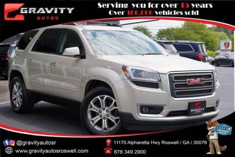 2015 GMC Acadia for sale at Gravity Autos Roswell in Roswell GA