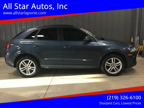 2016 Audi Q3 for sale at All Star Autos, Inc in La Porte IN
