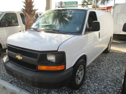 2014 Chevrolet Express Cargo for sale at Affordable Auto Motors in Jacksonville FL