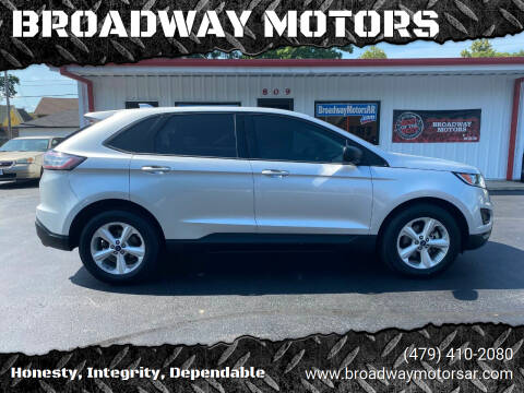 2018 Ford Edge for sale at BROADWAY MOTORS in Van Buren AR