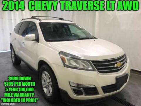 2014 Chevrolet Traverse for sale at D&D Auto Sales, LLC in Rowley MA