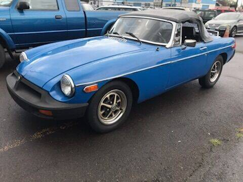 1977 MG MGB for sale at Chuck Wise Motors in Portland OR