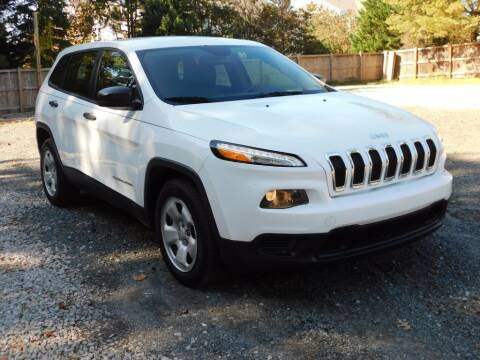 2016 Jeep Cherokee for sale at Prize Auto in Alexandria VA