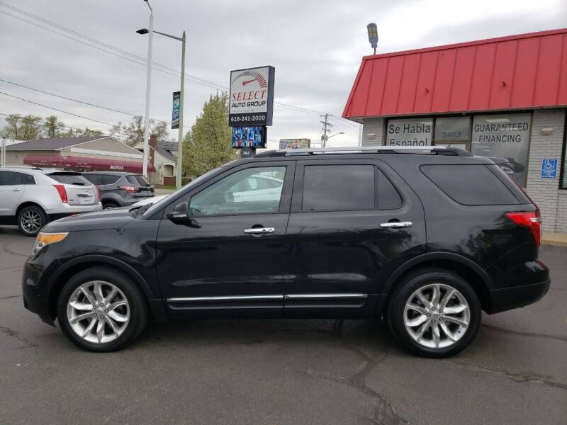 2014 Ford Explorer for sale at Select Auto Group in Wyoming MI