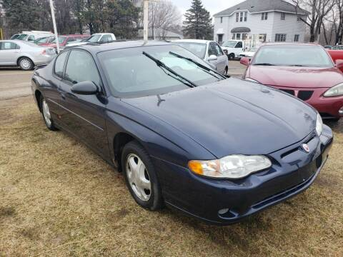 2001 Chevrolet Monte Carlo for sale at South Metro Auto Brokers in Rosemount MN