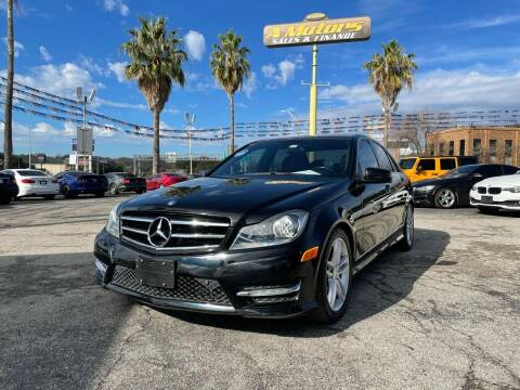 2014 Mercedes-Benz C-Class for sale at A MOTORS SALES AND FINANCE in San Antonio TX