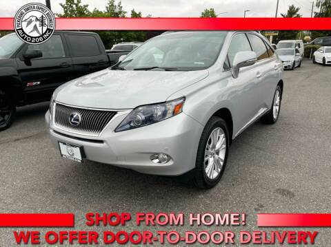 2010 Lexus RX 450h for sale at Auto 206, Inc. in Kent WA