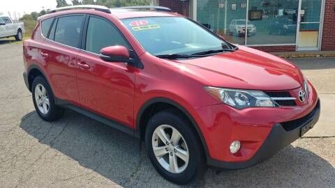 2014 Toyota RAV4 for sale at AutoBoss PRE-OWNED SALES in Saint Clairsville OH