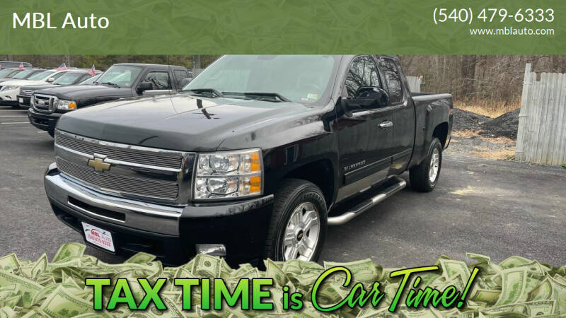 2010 Chevrolet Silverado 1500 for sale at MBL Auto Woodford in Woodford VA