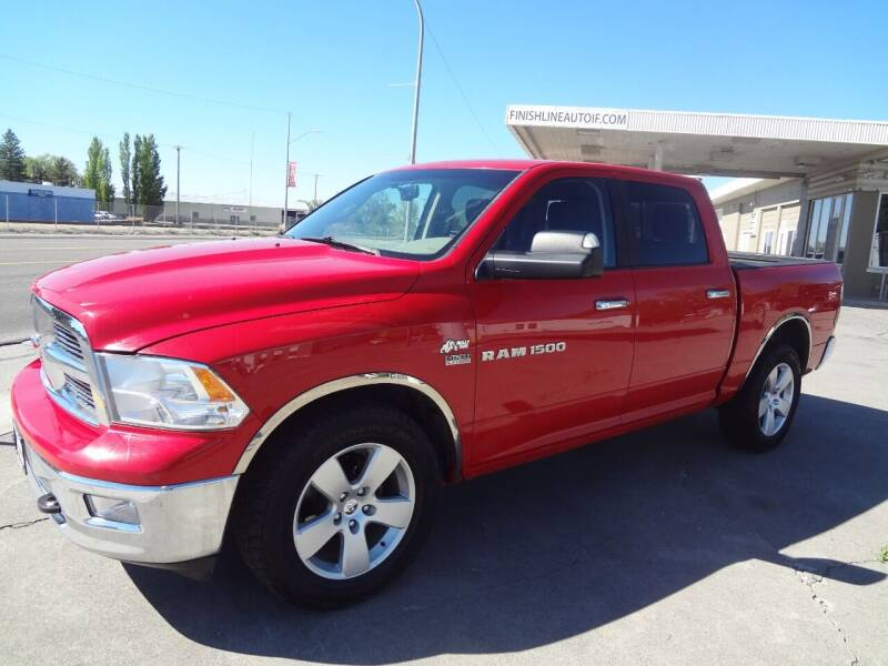 2012 RAM Ram Pickup 1500 for sale at FINISH LINE AUTO SALES in Idaho Falls ID