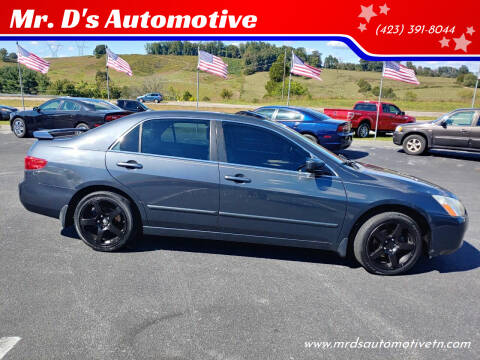 2005 Honda Accord for sale at Mr. D's Automotive in Piney Flats TN